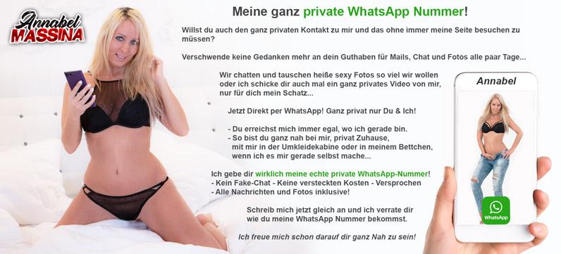 whatsapp, sms, chatten, schreiben, bildertausch mit AnnabelMassina